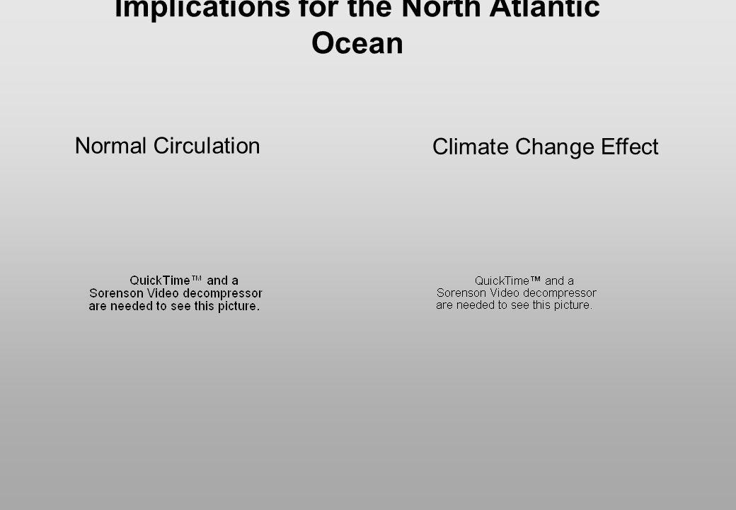 Implications for the North Atlantic Ocean
