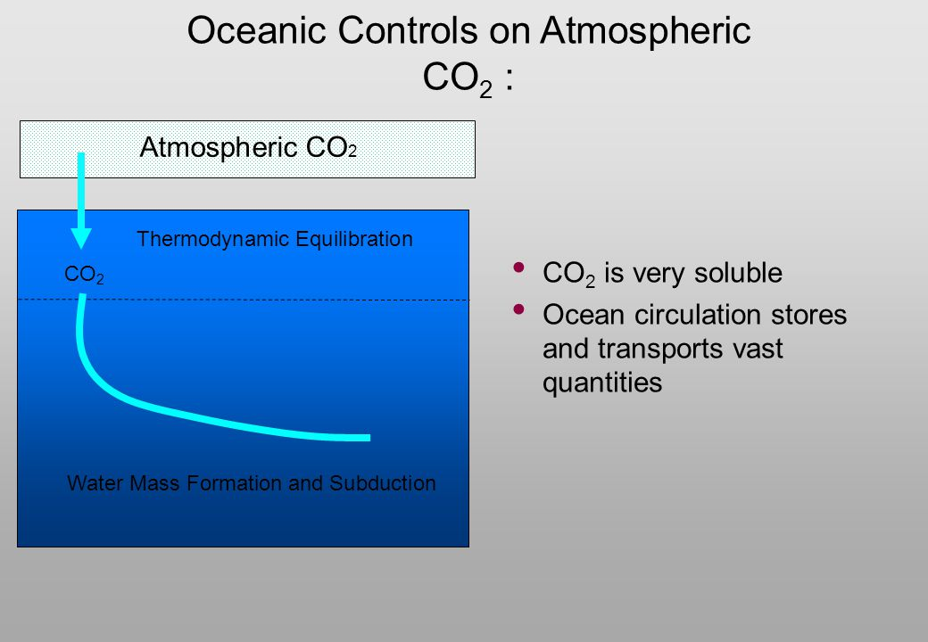 Oceanic Controls on Atmospheric CO2 :