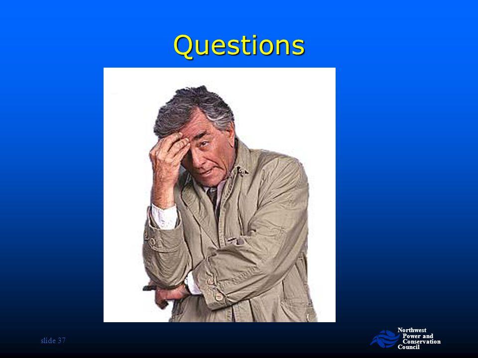 Questions slide 37