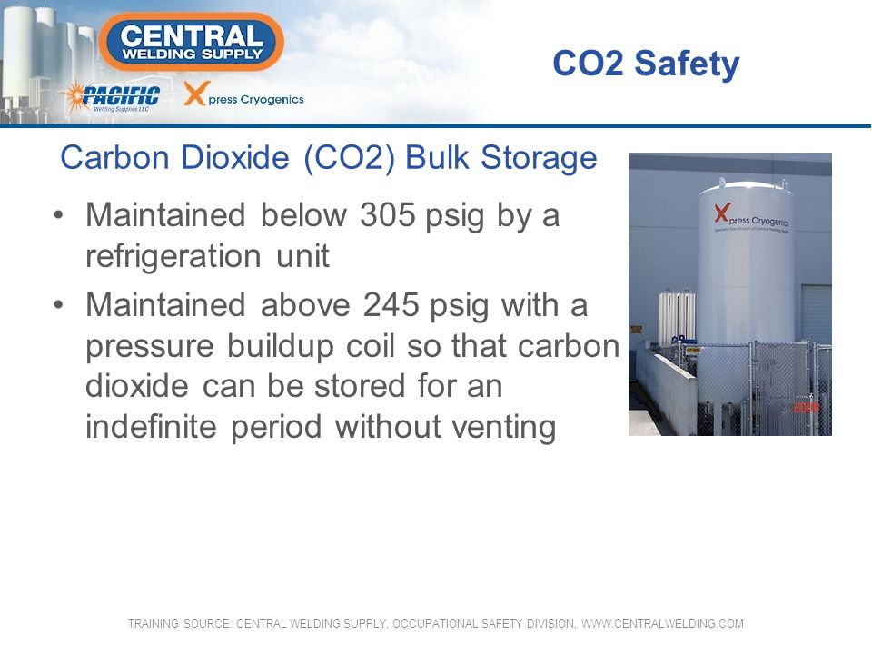 Carbon Dioxide (CO2) Bulk Storage