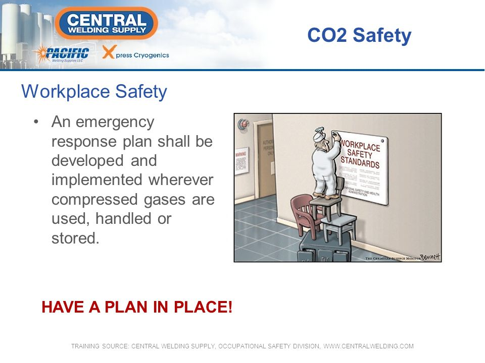 CO2 Safety Workplace Safety