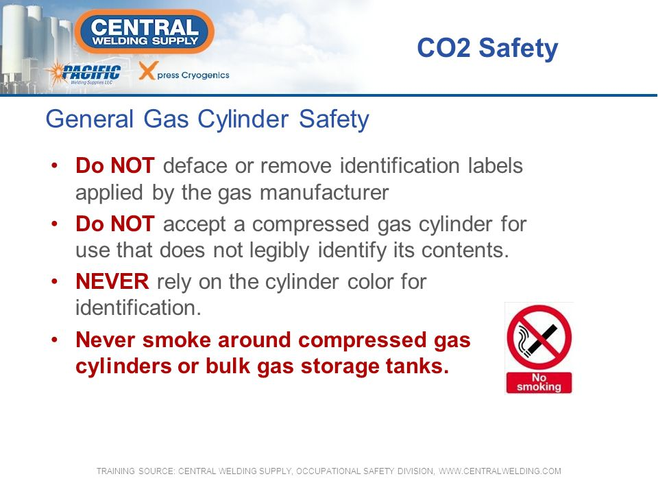 General Gas Cylinder Safety