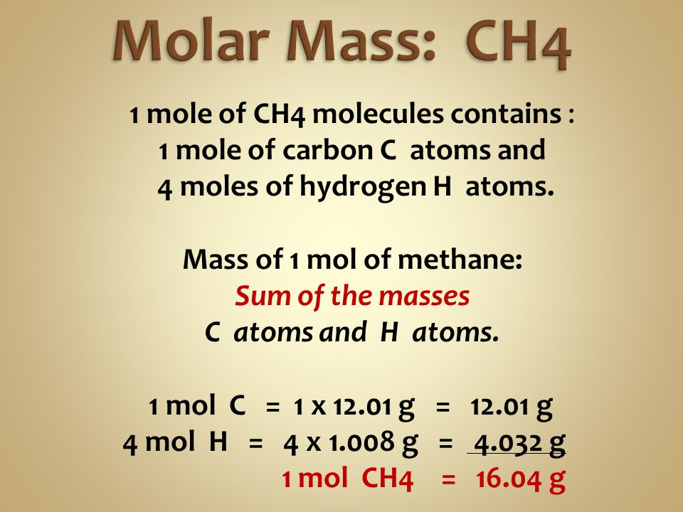 1 mole of carbon C atoms and