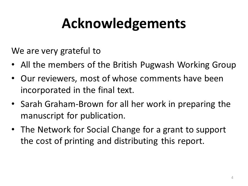 Acknowledgements We are very grateful to