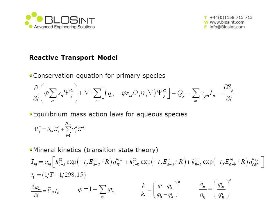 Reactive Transport Model