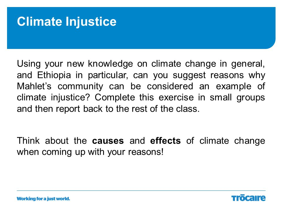 Climate Injustice