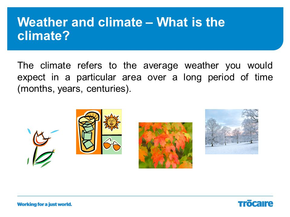 Weather and climate – What is the climate