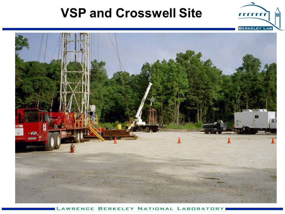 VSP and Crosswell Site