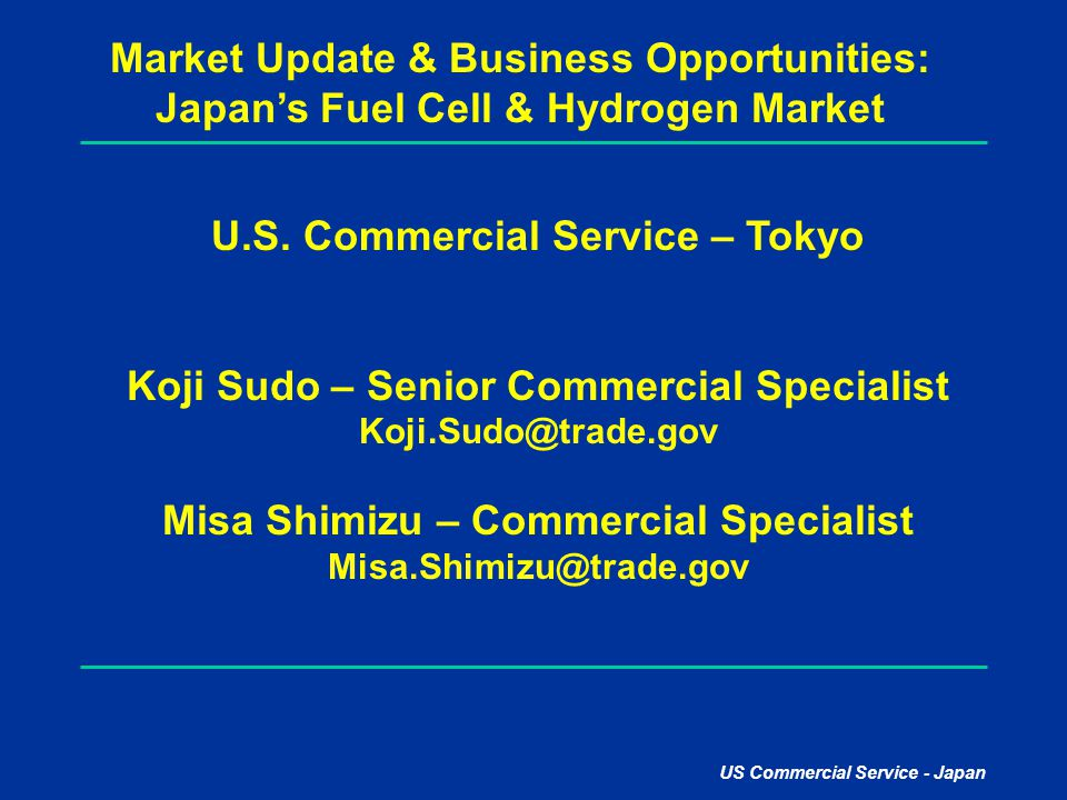 Market Update & Business Opportunities: