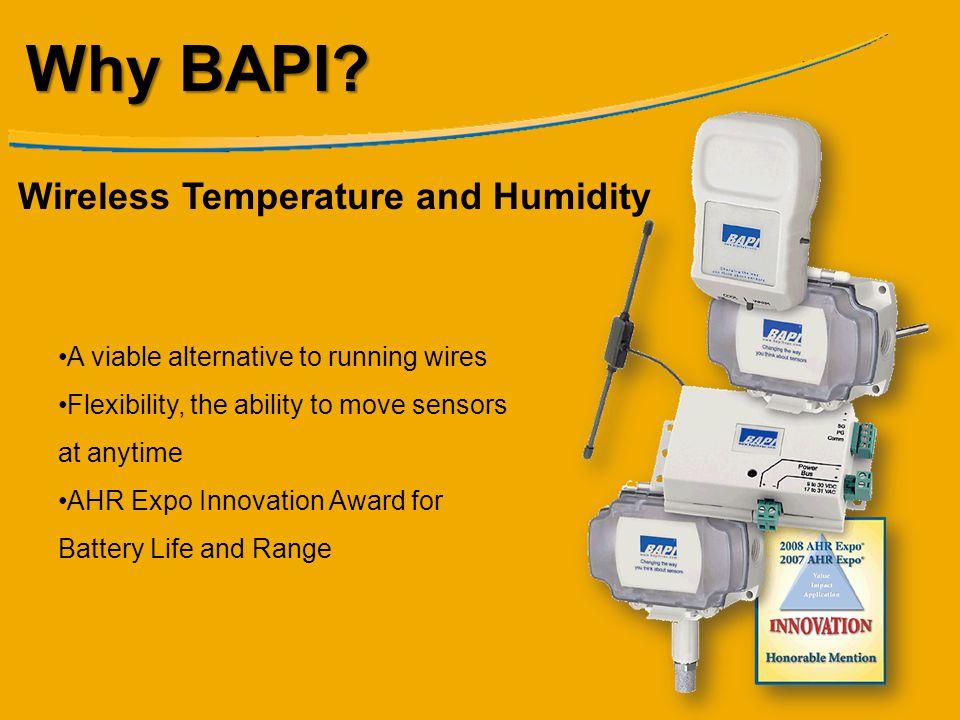 Why BAPI Wireless Temperature and Humidity