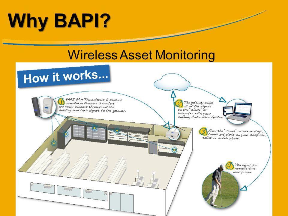Why BAPI Wireless Asset Monitoring