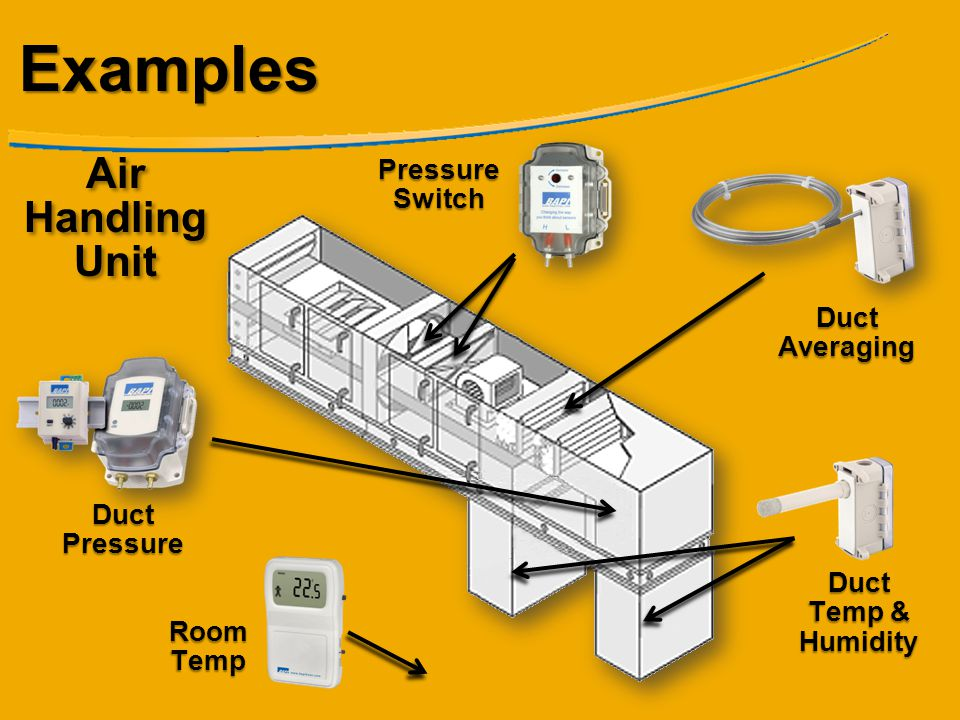 Examples Air Handling Unit Pressure Switch Duct Averaging
