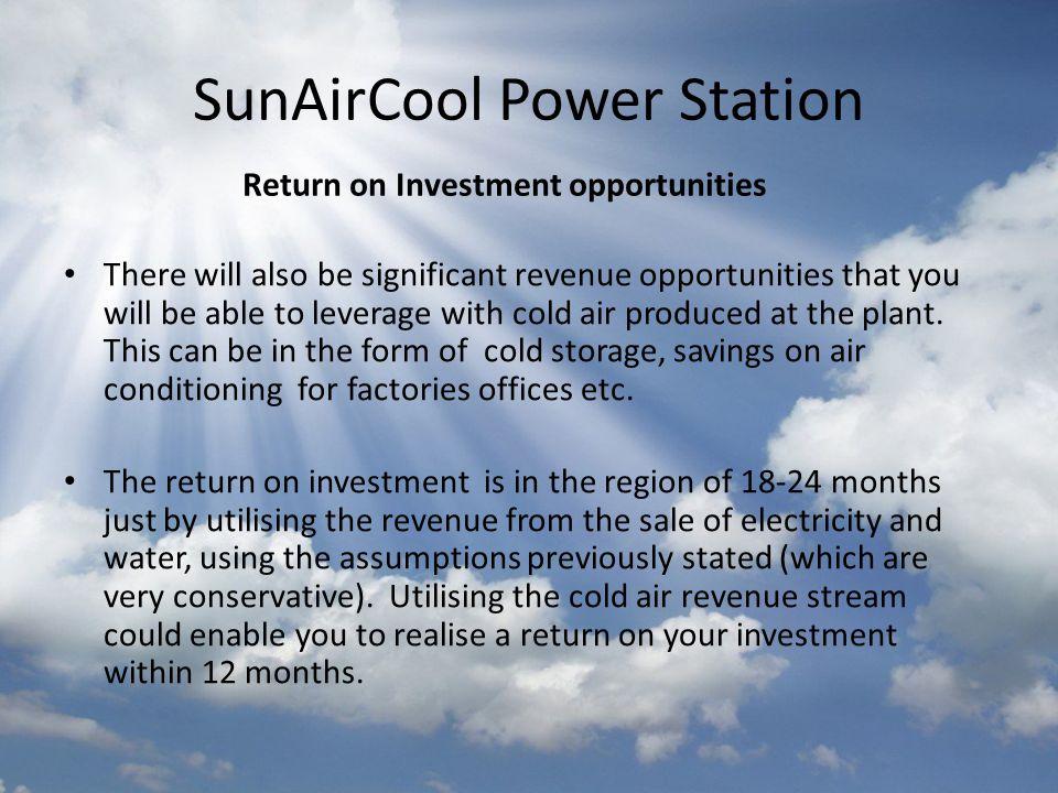 SunAirCool Power Station