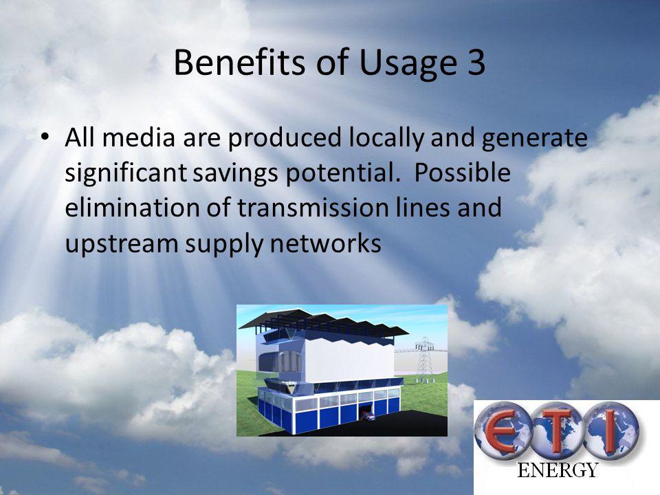 Benefits of Usage 3