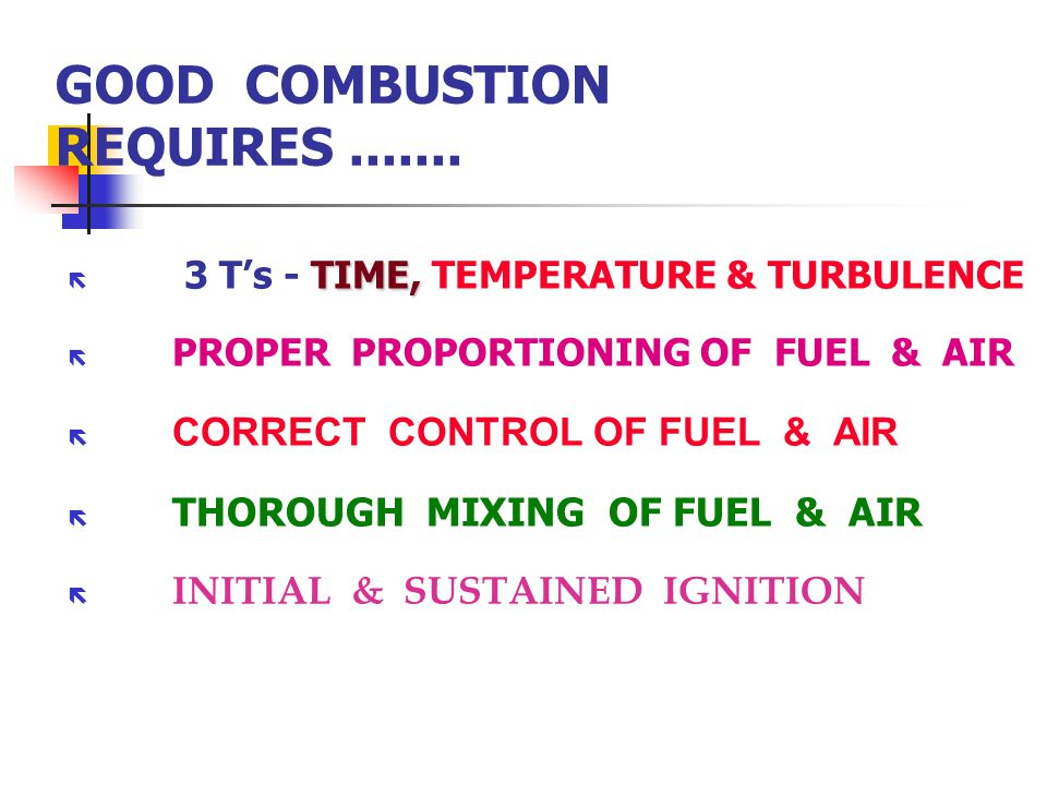 effective combustor t boilers fundamentals combustion ppt