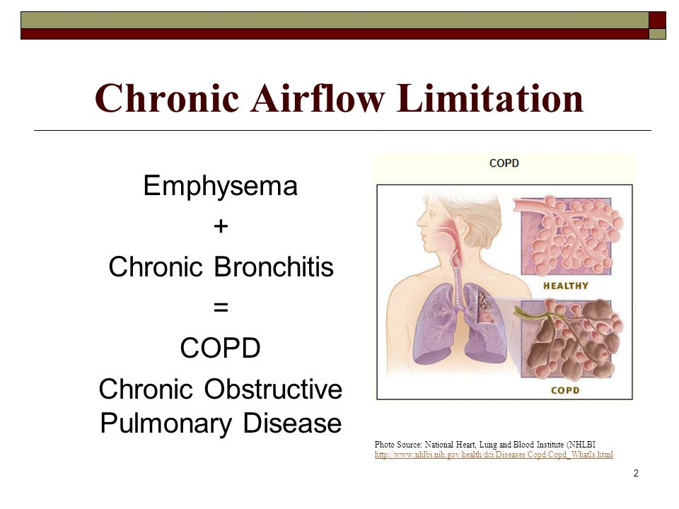 Chronic Airflow Limitation