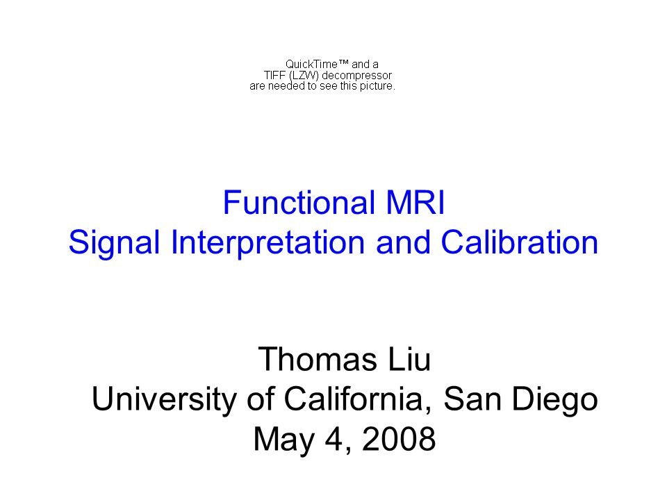 Thomas Liu University of California, San Diego May 4, 2008