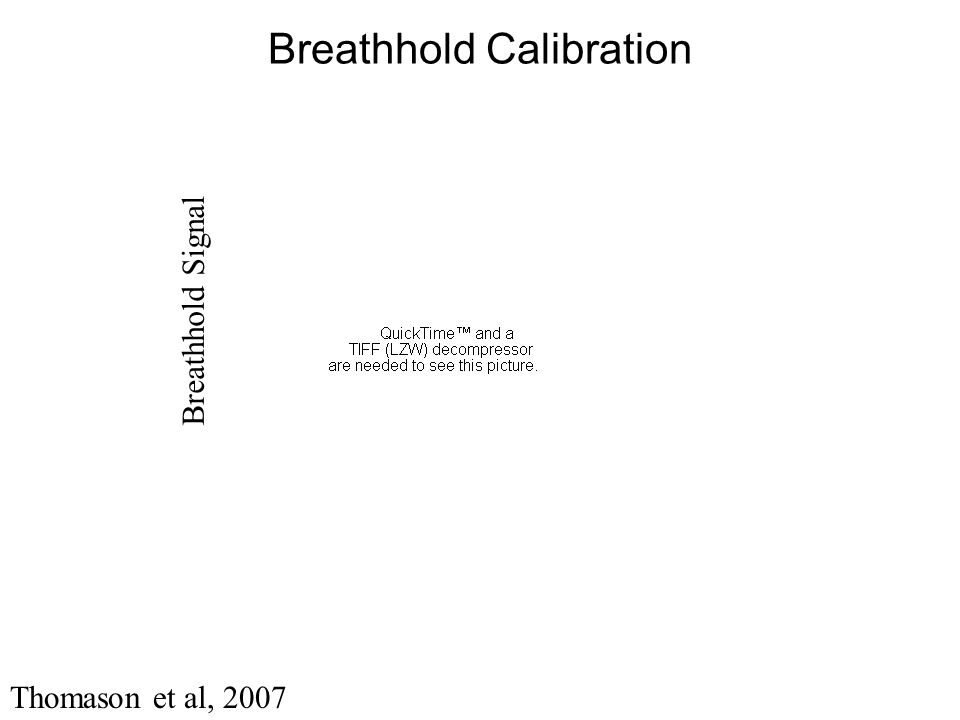 Breathhold Calibration