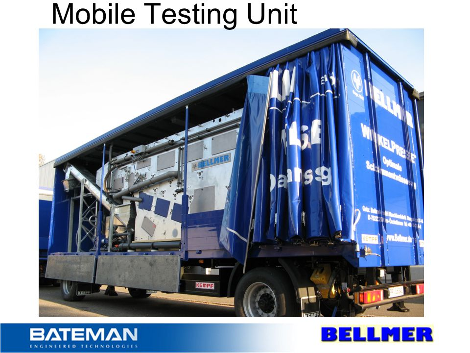 Mobile Testing Unit