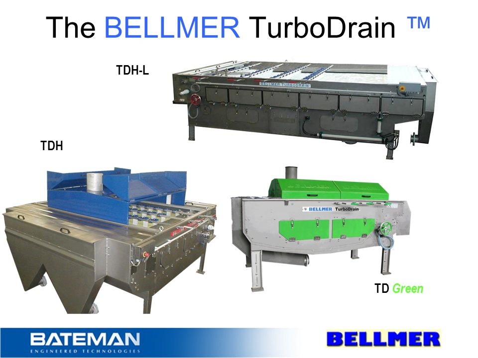 The BELLMER TurboDrain ™