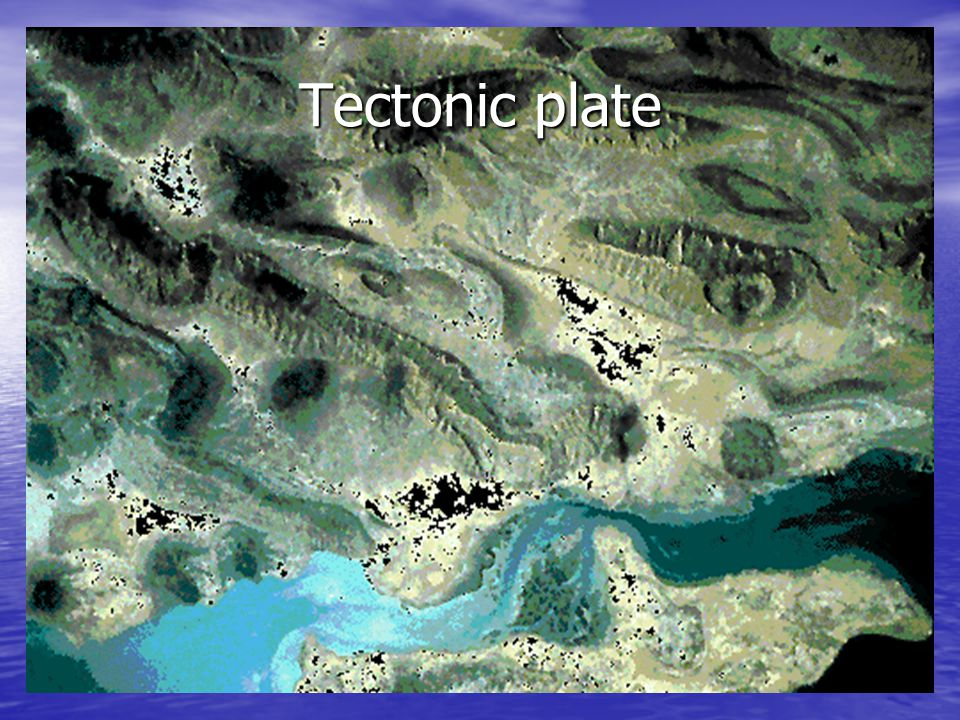 Tectonic plate
