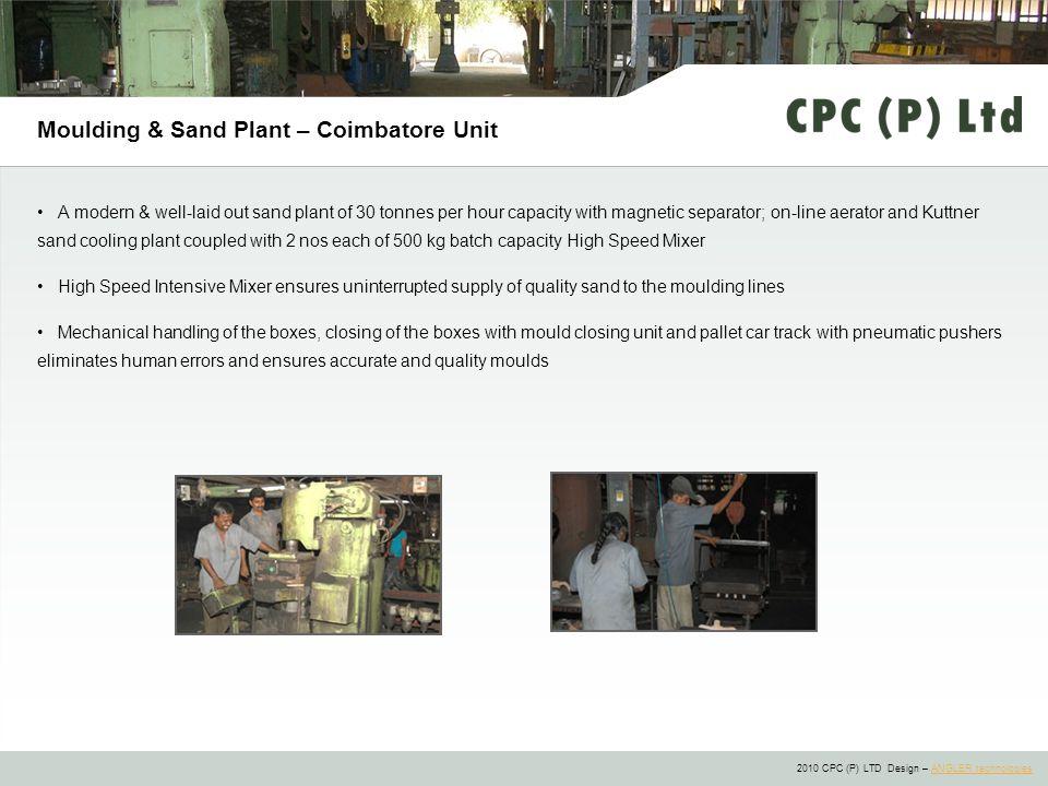 Moulding & Sand Plant – Coimbatore Unit