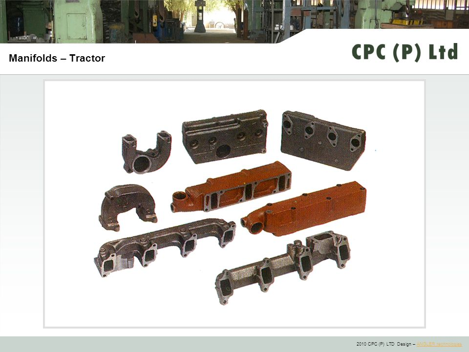 Manifolds – Tractor
