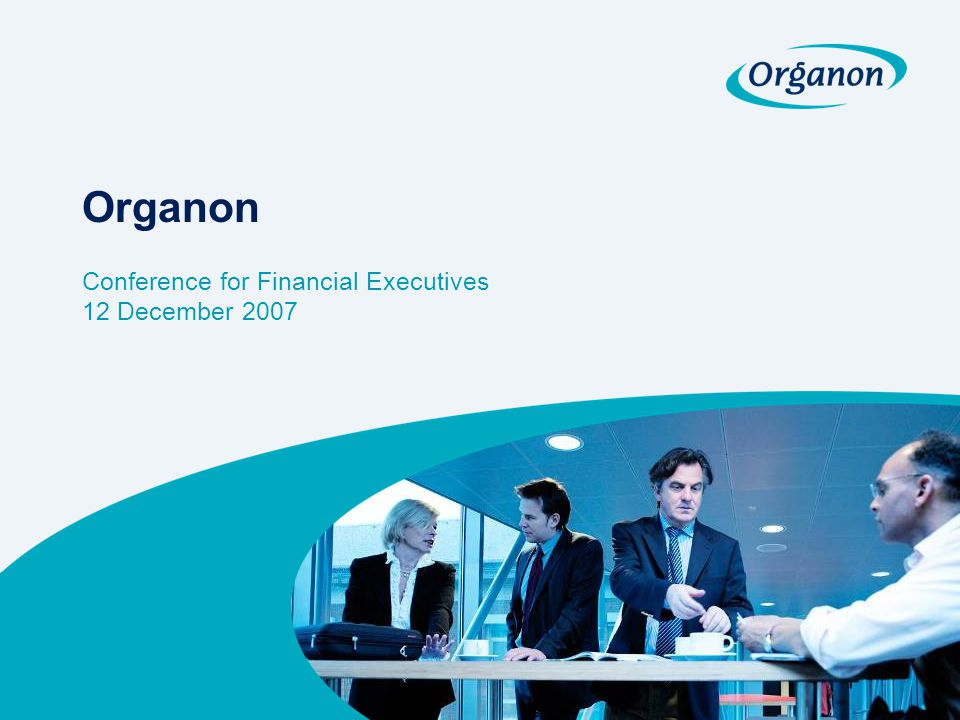 Conference for Financial Executives 12 December 2007