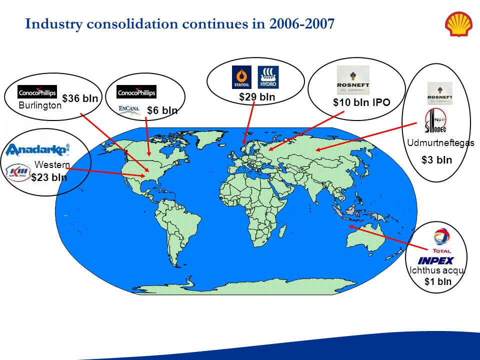 Industry consolidation continues in 2006-2007