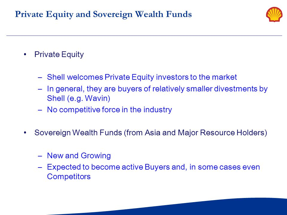 Private Equity and Sovereign Wealth Funds