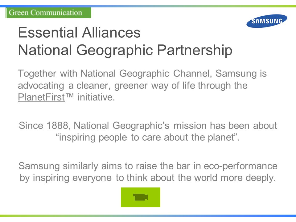 Essential Alliances National Geographic Partnership