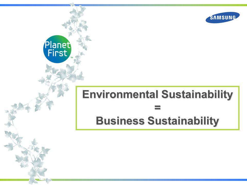 Environmental Sustainability Business Sustainability