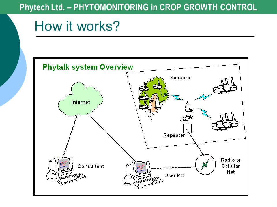 Phytech Ltd. – PHYTOMONITORING in CROP GROWTH CONTROL