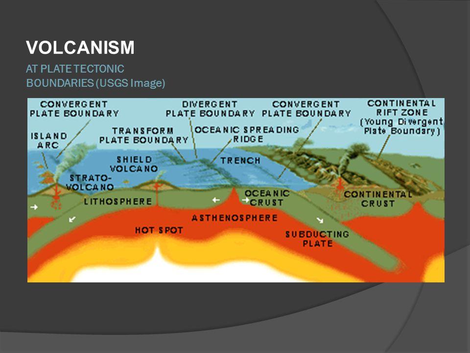 AT PLATE TECTONIC BOUNDARIES (USGS Image)