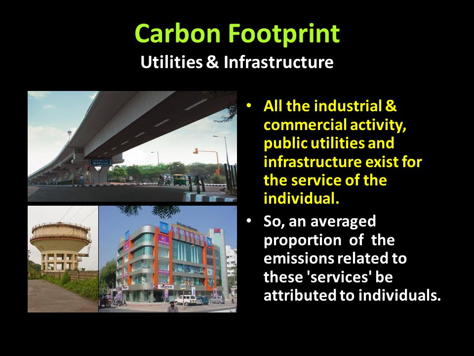 Carbon Footprint Utilities & Infrastructure