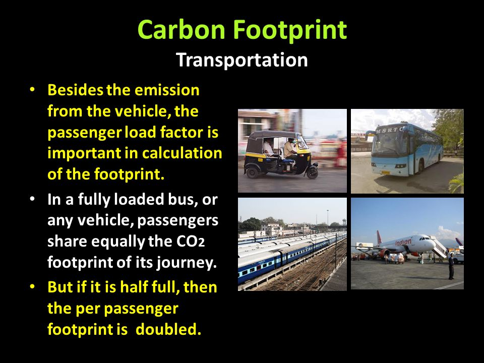 Carbon Footprint Transportation