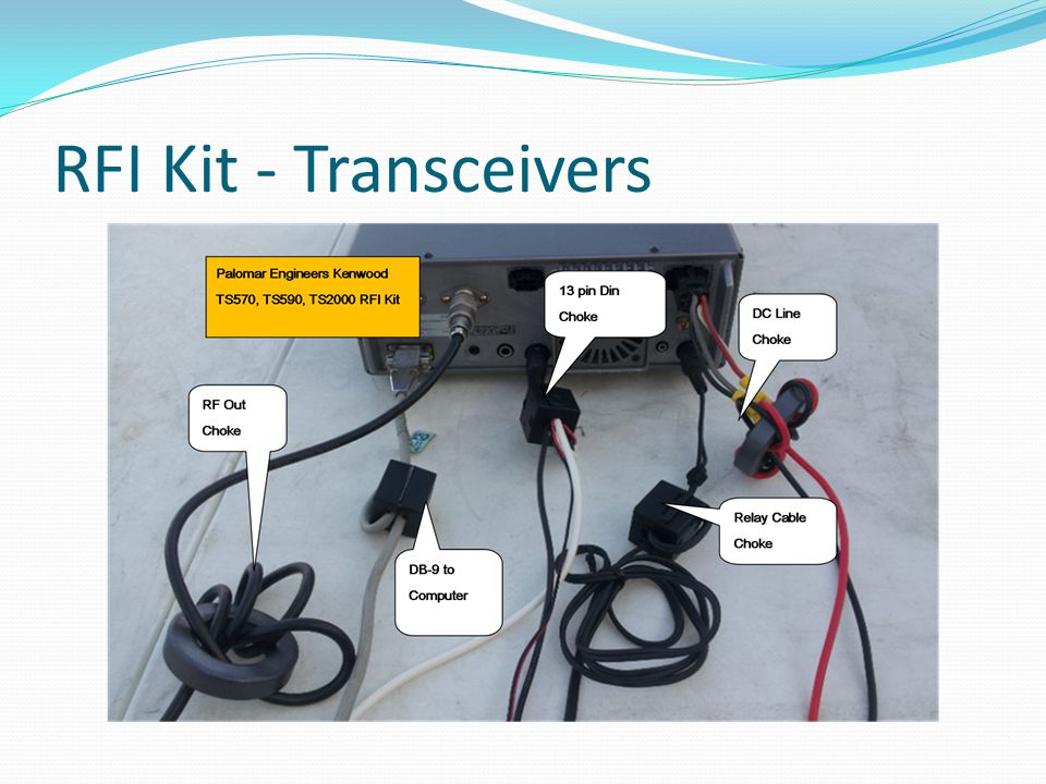 RFI Kit - Transceivers