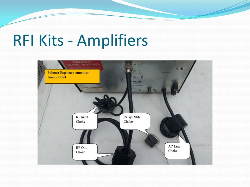 RFI Kits - Amplifiers