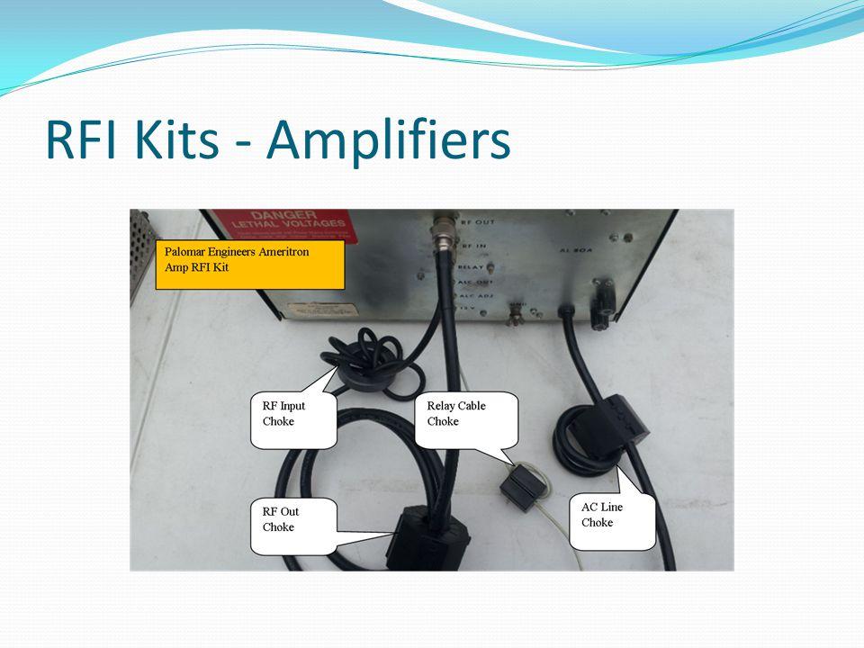 RFI Kits - Amplifiers