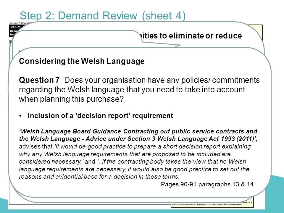 Step 2: Demand Review (sheet 4)