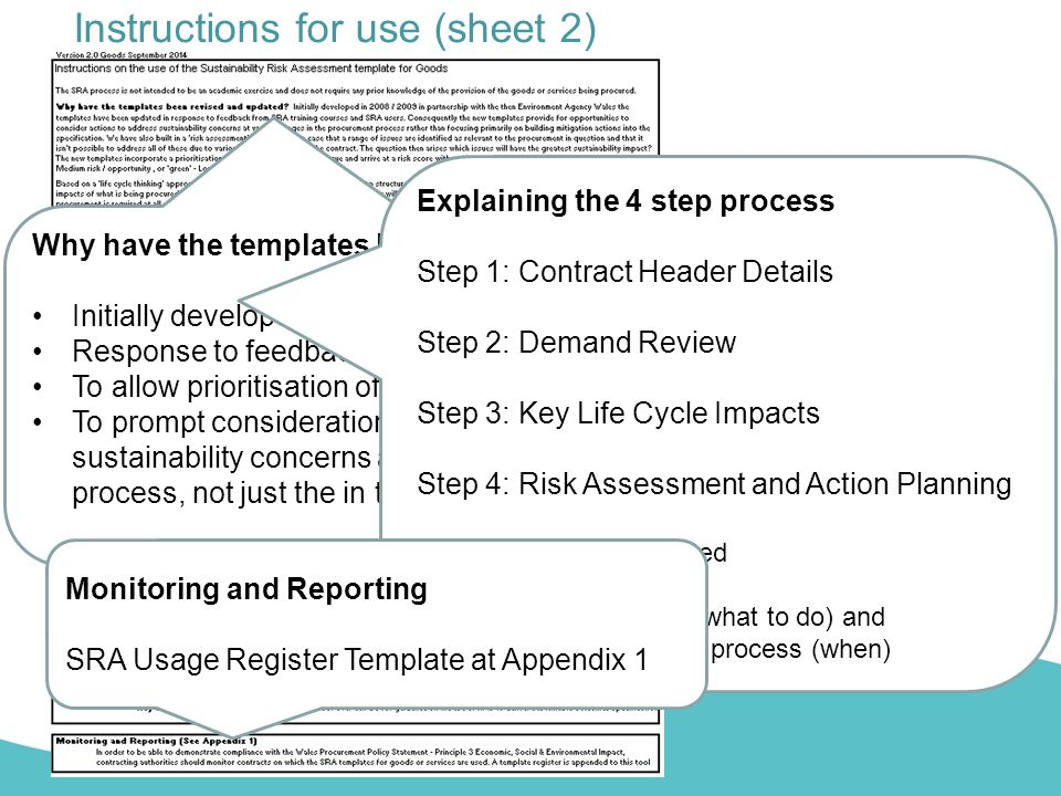 Instructions for use (sheet 2)