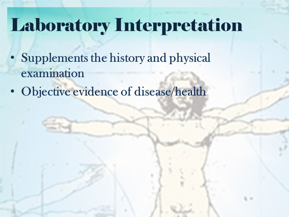 Laboratory Interpretation