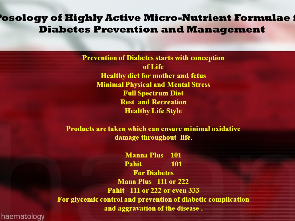 Posology of Highly Active Micro-Nutrient Formulae for