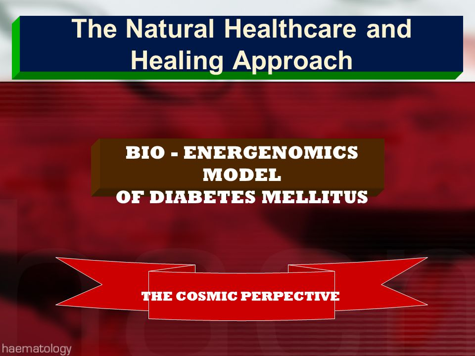 The Natural Healthcare and Healing Approach