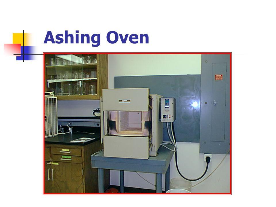Ashing Oven