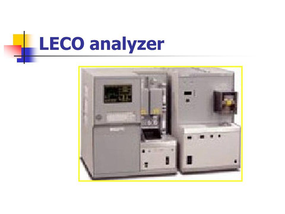 LECO analyzer