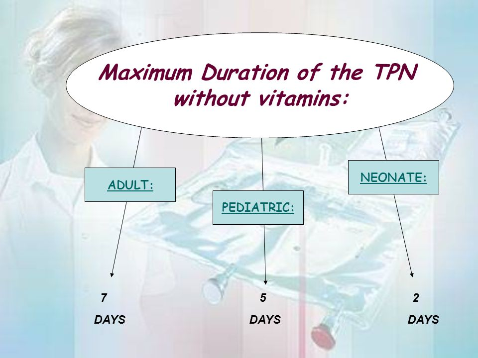 Maximum Duration of the TPN
