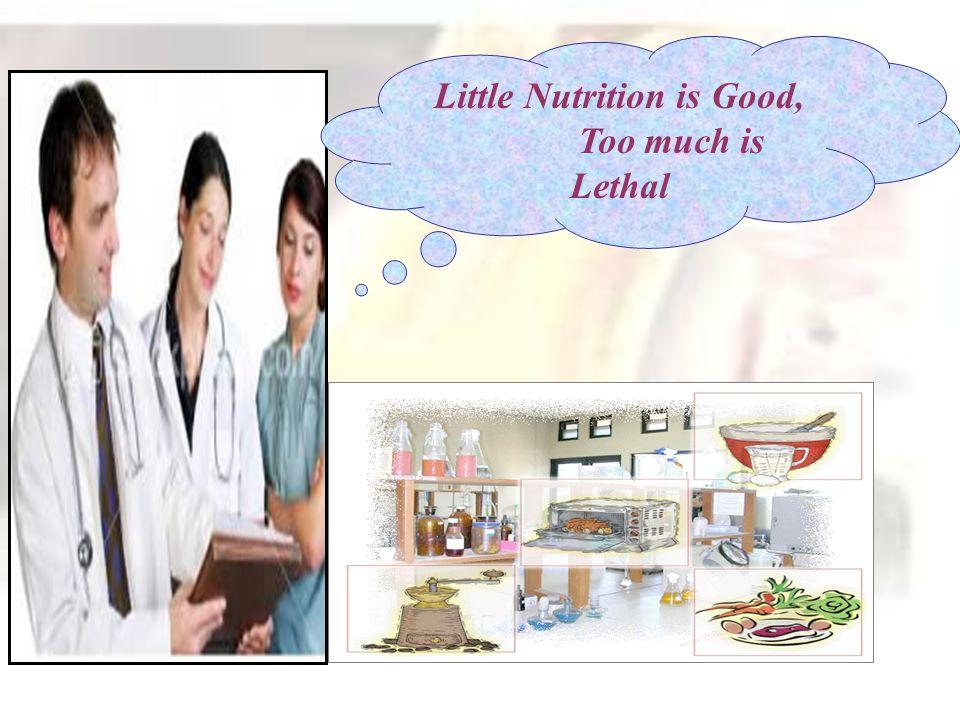 Little Nutrition is Good,