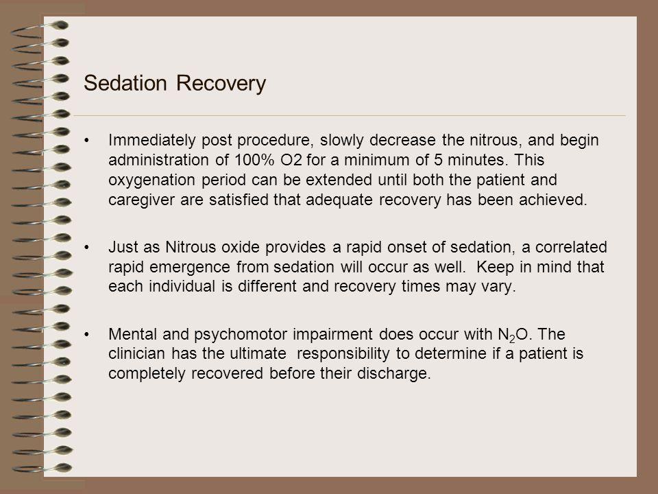 Sedation Recovery