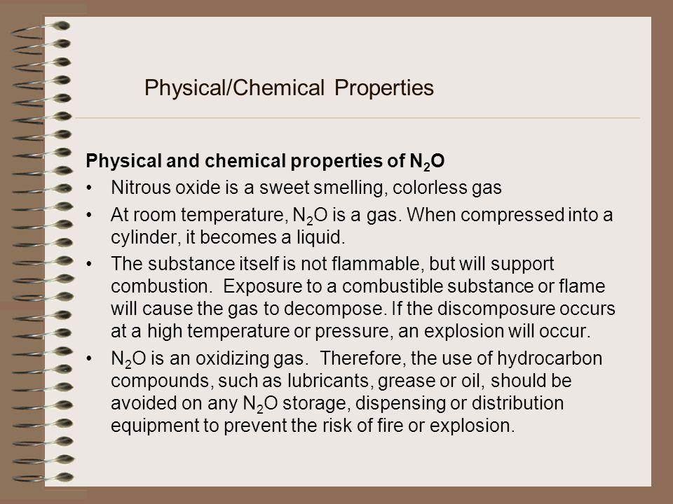 Physical/Chemical Properties